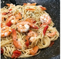 Raffie's Aglio e Olio Spaghetti Recipe