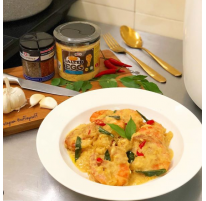 Raffie's Salted Egg Shrimp Recipe