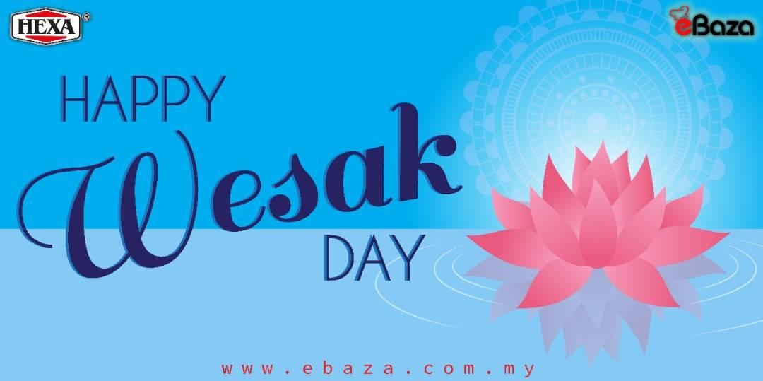 Happy Wesak Day 26 May 2021
