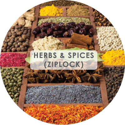 Herbs and Spices (Ziplock)