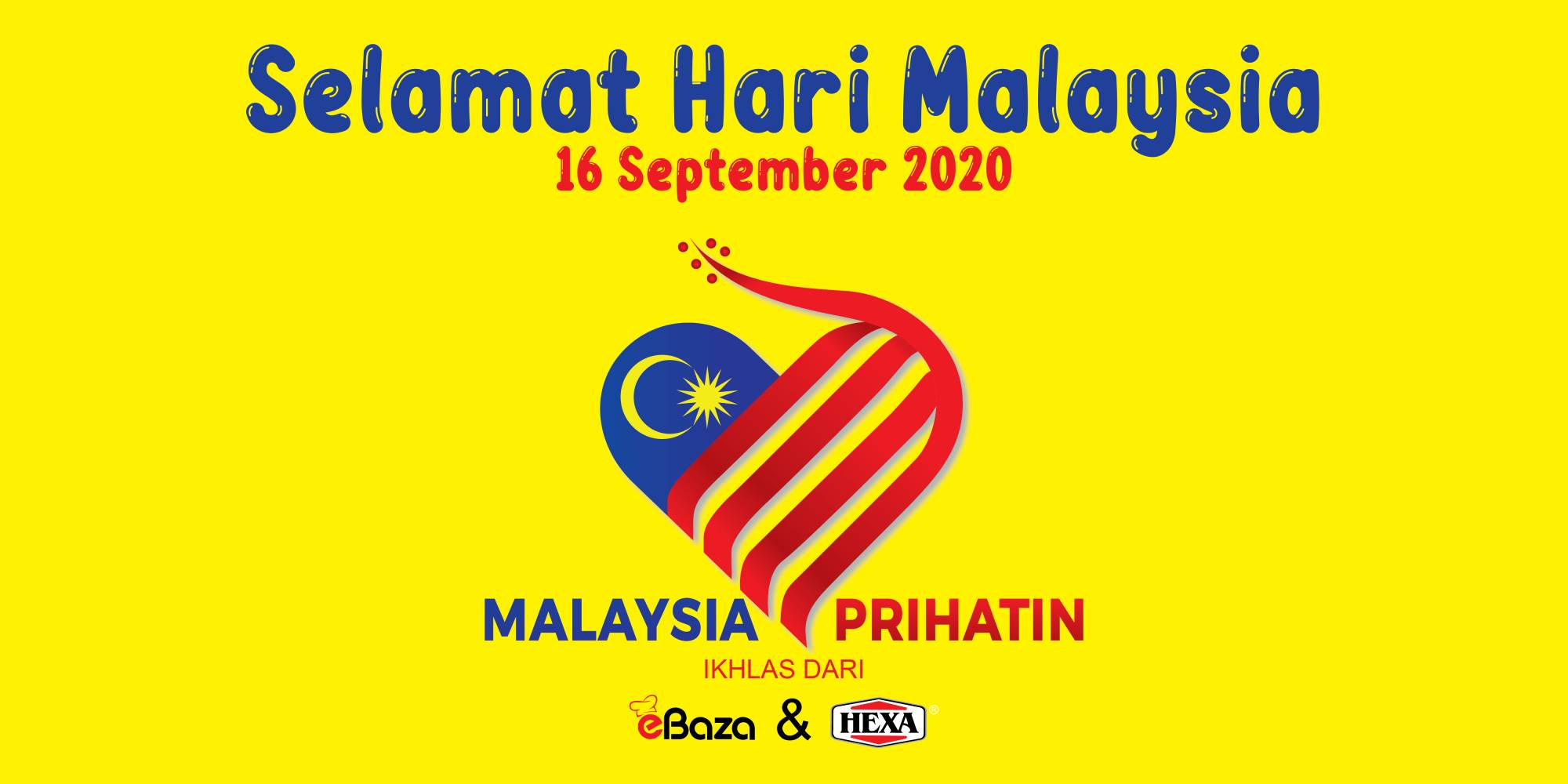 Selamat Hari Malaysia, Malaysia Prihatin