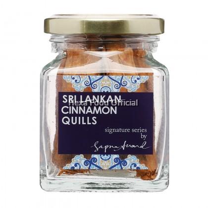 """Sapna Anand"" Ceylon Sri Lanka Cinnamon Stick 42g"