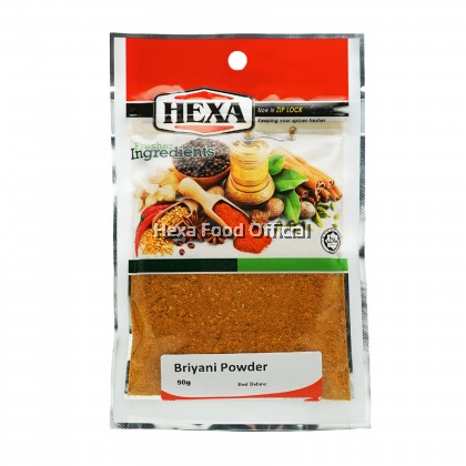 HEXA HALAL Briyani Powder 50gm