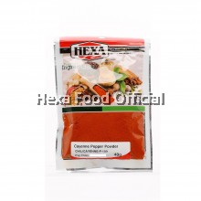 HEXA Cayenne Pepper Powder (Spicy Rating: 4 - 40,000 SHU) 40g