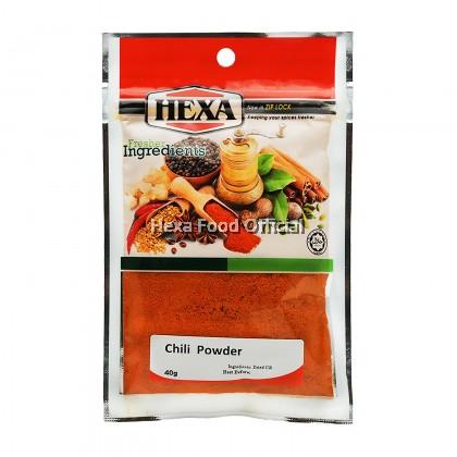 HEXA Chili Powder 40g #100 (Spicy Rating: 3 - 12,000 SHU)