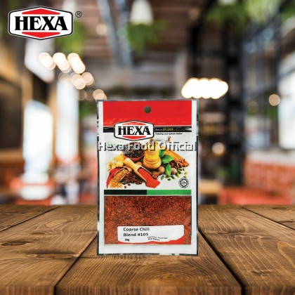 HEXA Coarse Chili Blend# 101 (3.5mm, Spicy Rating: 2 - 7,000 SHU) 30g