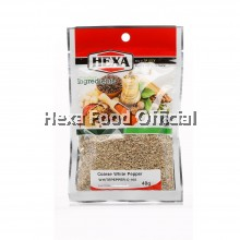 HEXA Coarse White Pepper 40g