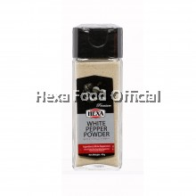 HEXA White Pepper Powder (Glass Jar) 45g