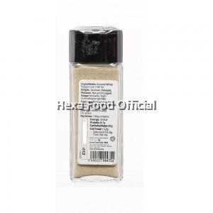 HEXA White Pepper Powder (Glass Jar) 45g