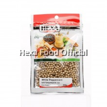 HEXA White Peppercorn 30g