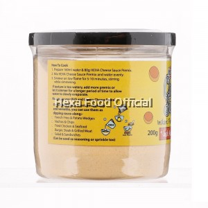 "HEXA Nachos Set ""Cheese Powder 200g + Paprika 30g+ Italian Herbs 20g"""