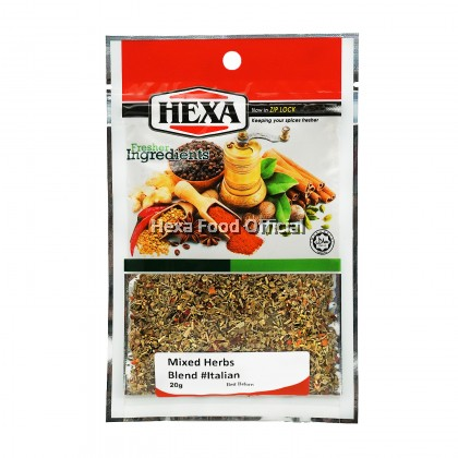Nachos Set HEXA Cheese Sauce Premix 200g + Paprika Powder 30g+ Italian Mixed Herbs 20g""