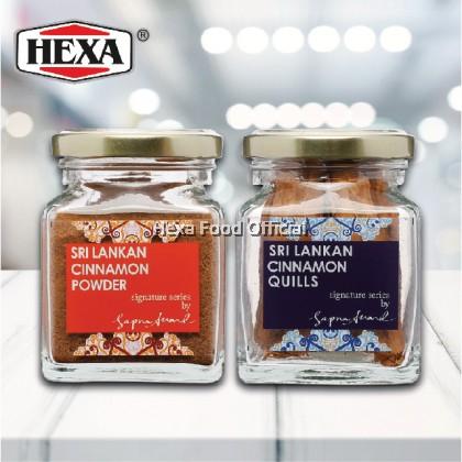 HEXA HALAL Sri Lanka Premium Ceylon Cinnamon *2 Jars