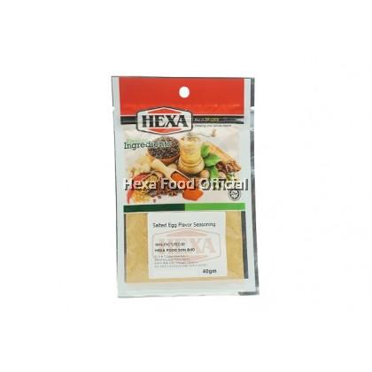 HEXA Salted Egg Flavor Seasoning 2x 40g + Paprika Powder 30G
