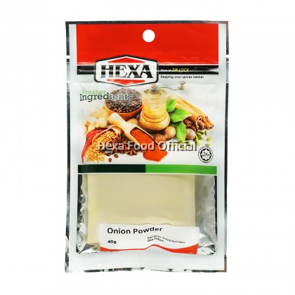 HEXA HALAL Garlic 40gm + Onion 40gm + Paprika Powder 30gm + Cheese Flavour Seasoning 50gm