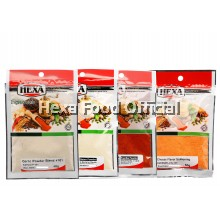 Hexa Garlic P 40g + Onion P 40g + Paprika Powder 30g + Cheese flavor Seasoning 50g