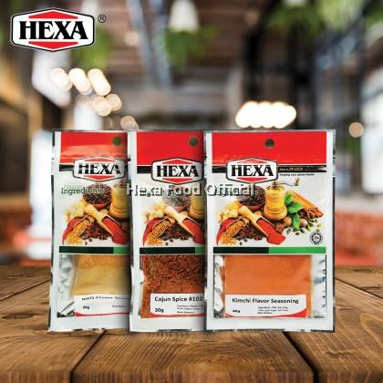 Hexa Kimchi 40g + Cajun Spice 30g + BBQ Flavor Seasoning 40g