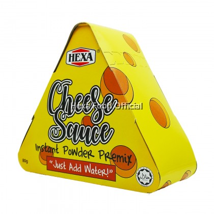 HEXA HALAL Original Cheese Sauce Premix 80gm