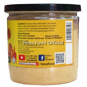 Hexa Jalapeno Cheese Sauce Premix Powder 200 g
