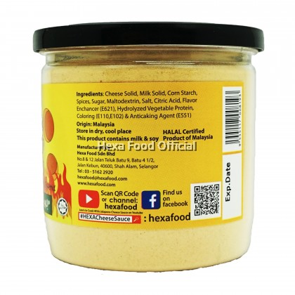 HEXA JALAPENO CHEESE SAUCE PREMIX POWDER 200g