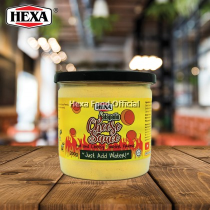 HEXA HALAL Jalapeno Cheese Sauce Premix Powder 200gm