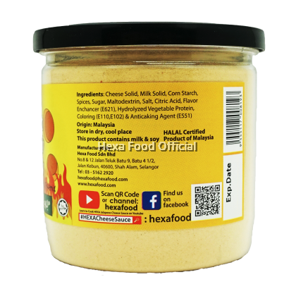 HEXA Cheese Sauce Premix (Original) + (Jalapeno) 200g