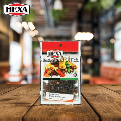 HEXA HOTTEST Dried Chili #Habanero 10g