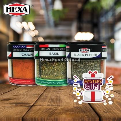 HEXA 4in1 (American 85g + British 85g + Italian 24g) Bottles*3 + FREE Gift