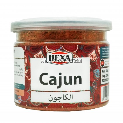 HEXA HALAL Cajun Spice Bottle 85gm