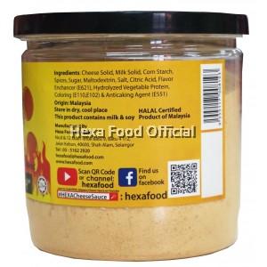 HEXA Cajun Spice 85g + Cheese Sauce Premix Powder 200g