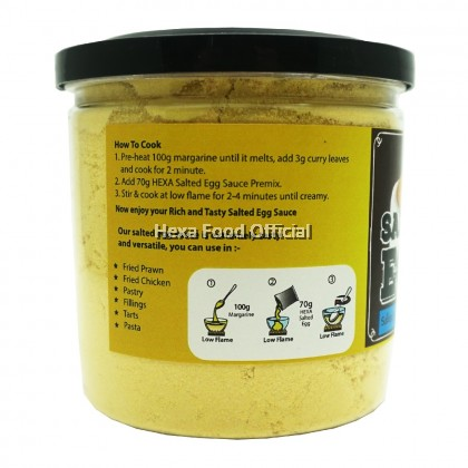 HEXA Salted Egg Sauce Powder Premix 140g*2