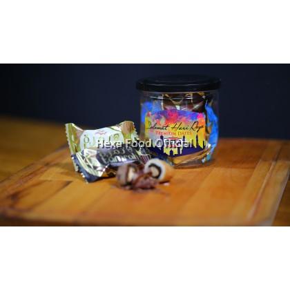HEXA Gift Set (Ayam Goreng Berempah 150g+Tamrah Chocolate Dates 100g)