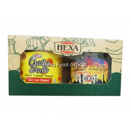 HEXA Gift Set (Cheese Premix Powder 200g+Tamrah Chocolate Dates 100g)