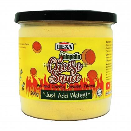 Hexa Jalapeno Cheese Sauce Premix Powder 200g*12