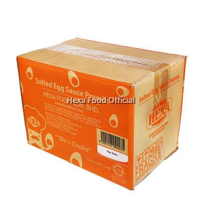 Hexa Salted Egg Sauce Powder Premix 80G*12