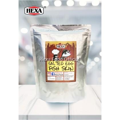 HEXA Salted Egg Fish Skin Chips 100g HIGH QUALITY
