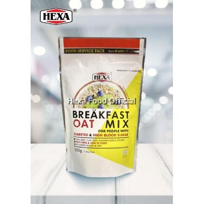 HEXA BREAKFAST OAT MIX 350G