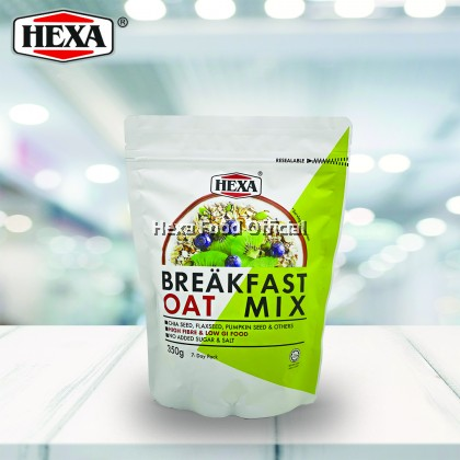 HEXA BREAKFAST OAT MIX 350G