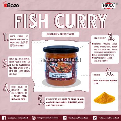 HEXA HALAL Fish Curry Powder 170gm