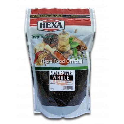 HEXA BLACK PEPPERCORN 500g