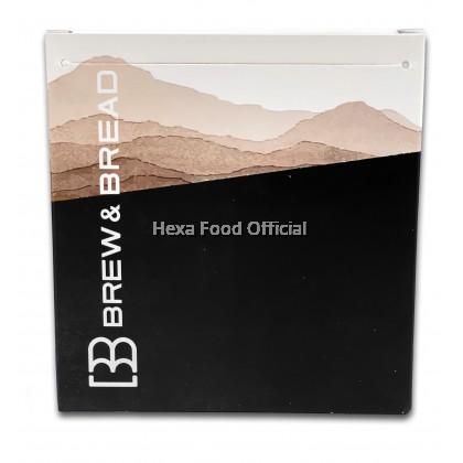 BREW & BREAD DRIVER DARK ROAST WHOLE BEAN/POWDER 250g