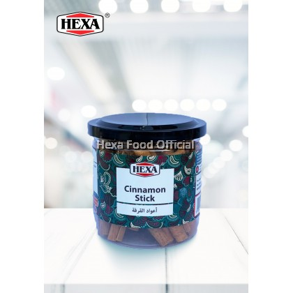 HEXA Indonesia Cassia Cinnamon Powder (170g) + Cinnamon Stick (100g)