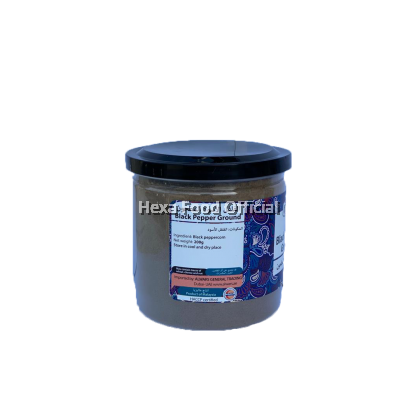 HEXA Black Pepper Powder (200g) + Turmeric Powder (180g)