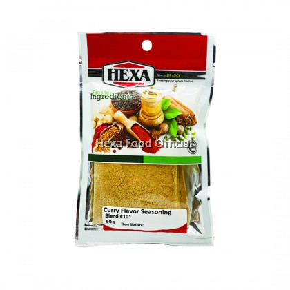 HEXA CURRY FLAVOR SEASONING #101 50gm