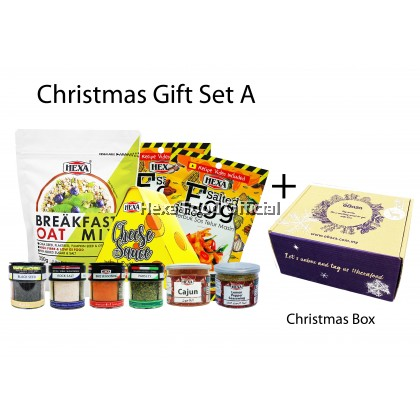 HEXA Spice Christmas GIFT Box Client Holiday Corporate Xmas Gifts SET A