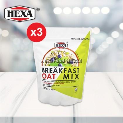 HEXA BREAKFAST OAT MIX (350G X 3)