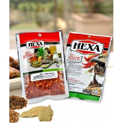 HEXA HALAL Chili Flakes #103 30gm