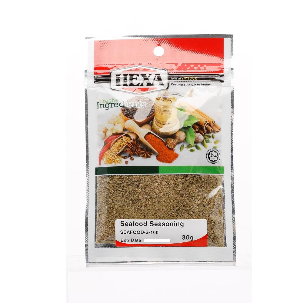 Hexa seafood seasoning 30g for Best fish seasoning