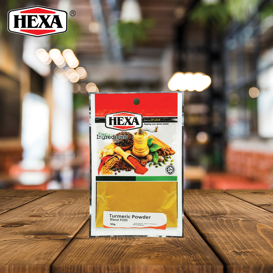 HEXA Turmeric Powder 50g